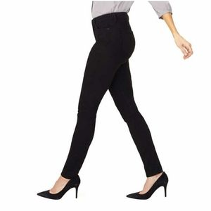 NYDJ Alina Legging Skinny Jean Lift Tuck Black